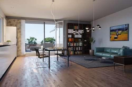 Provisionsfreier Wohn(t)raum: 4-Zimmer-Maisonette mit rd. 90m² Dachterrasse zu verkaufen!
