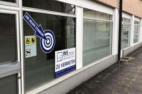 Geschäfts-oder Bürofläche in gut frequentierter Lage in Linz