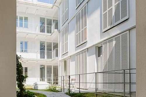 Rarität - neuwertige 2-Zimmer Wohnung in bester Zentrumslage mit Garten