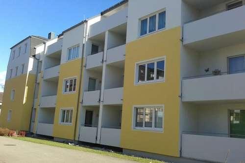 Helle, geräumige 2-Zimmer-Mietwohnung mit Loggia in Ried