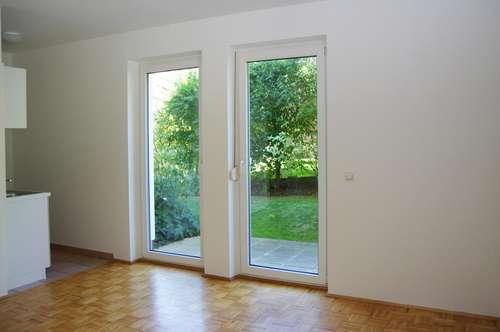 1 Zimmer-Wohnung mit Garten