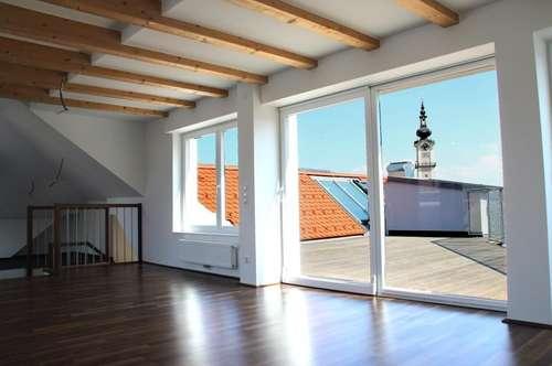 Altstadt Linz - Maisonette-Wohnung mit einzigartiger Aussicht