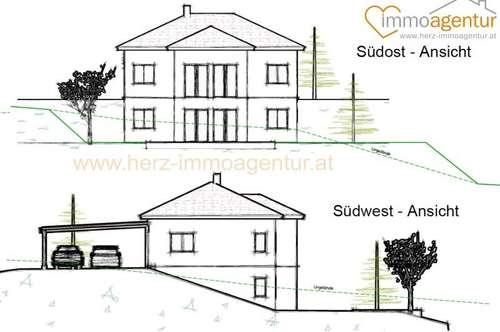 Hanghaus Ziegelmassiv mit sonnigem Grundstück in Gaspoltshofen vom Architekten geplant! TOPAUSSTATTUNG