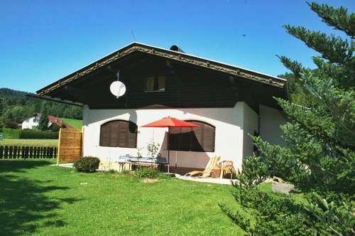 Wernberg nahe Villach erschwinglicher Bungalow in ruhiger sonniger Aussichtslage