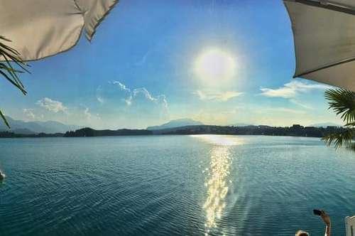 Drobollach am türkisblauen Faaker See traumhafte Wohnung mit Seeblick