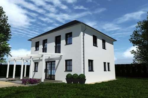 Fertighaus 122 m² Belagsfertig und Grund in Kleinbuch