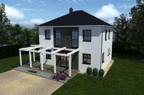 Schlüsselfertiges Fertighaus um € 1.530,-- incl. Mwst. pro m² Wohnnutzfläche lt. Bau-und Leistungsbeschreibung