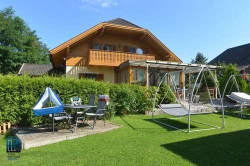 Nordufer/Pörtschach: Wohnsitz am Wörthersee in 2. Reihe in beliebter Ostbucht