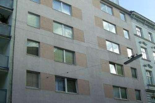 Fugbachgasse, Hofgrünruhelage, nächst U1/U2 Praterstern, ältere 40m² Neubaumiete, 3. Liftstock