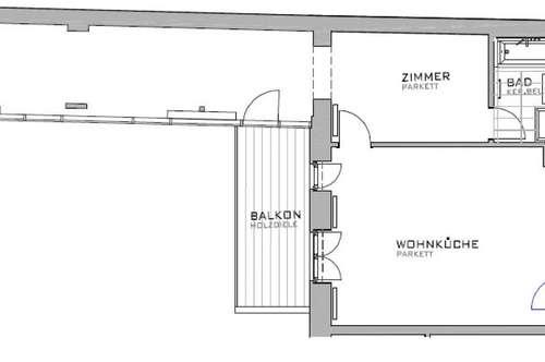 Großzügige 2 Zimmer Wohnung auf der Neubaugasse- Mariahilf