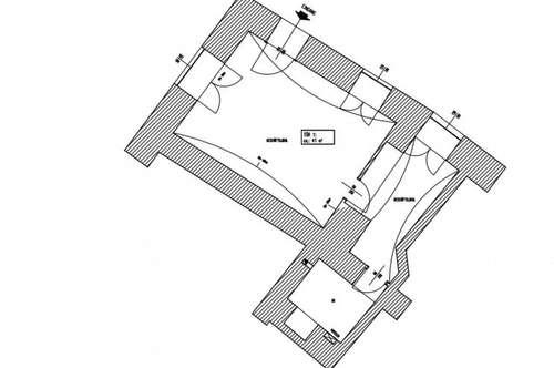 Zwei Geschäftsflächen mit einer Gesamtfläche von 56 m² - Mitten im 1. Bezirk