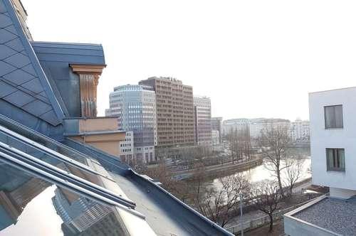 55 m² Dachgeschoss-Wohnung beim Donaukanal