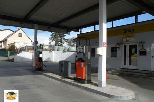 Bistro mit Wohnung, Postshop und Tankstelle zum Superpreis