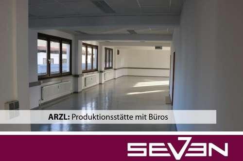 ARZL: Produktionsstätte mit Büros