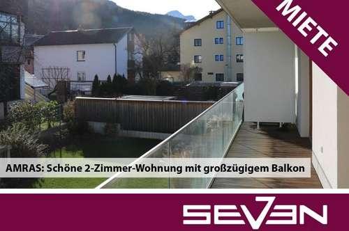 MIETE - AMRAS: Schöne 2-Zimmer-Wohnung inkl. TGAP