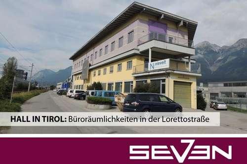 HALL IN TIROL: Büroräumlichkeiten in der Lorettostraße