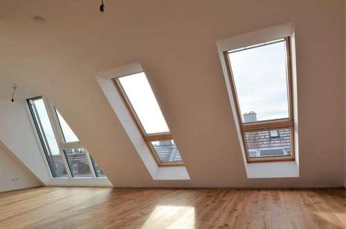 Erstbezug! Schlüsselfertige Dachgeschosswohnung in der Cumberlandstraße