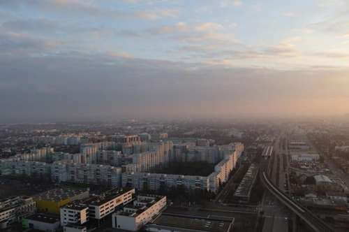 1210 Wien - UNO-City Nähe - Traumhafte, möblierte 4-Zimmer-Wohnung in 99 Meter Höhe