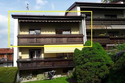 Gepflegte 3-Zimmerwohnung mit Westbalkon