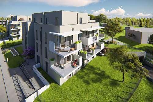 Städtisches Wohnen im Grünen - provisionsfrei vom Bauträger