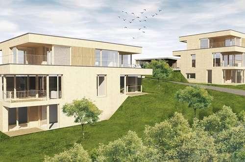 Lannach, tolle zweigeschossige Wohnung in Waldrandlage, 3 Zimmer, 2 Balkone, Terrasse