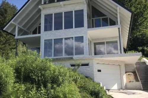 Erstbezug Villa mit Traumblick auf die Veldener Bucht und den Wörthersee