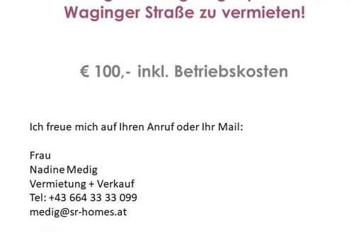 Geräumiger Einzelgaragenplatz in der Waginger Straße (Liefering) zu vermieten!