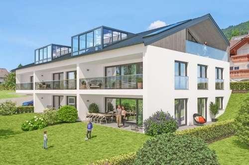 """Neubauprojekt Unterach am Attersee """"Sonnen-, Berg- und Seekulisse Top 3"""