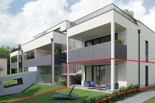 PROVISIONSFREI - 2 Zimmer mit Terrasse & Garten, perfekt für Anleger!