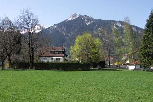 Grundstück Lechaschau Rosenau