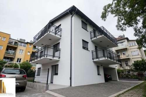 Neubau Erstbezug 3 Zimmerwohnung mit 2 Balkonen und KFZ Stellplatz
