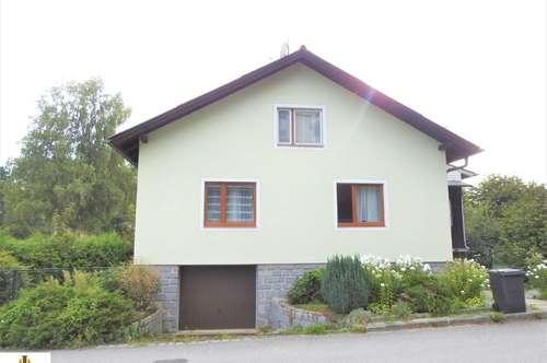 Schönes, gepflegtes Einfamilienhaus mit Garten in Litschau, in ruhiger Lage!