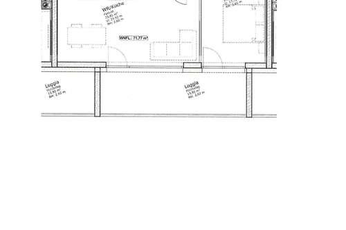 Wunderschöner Erstbezug, 3 Zimmer Wohnung mit Loggia, 96 m² inkl. BK € 959, -