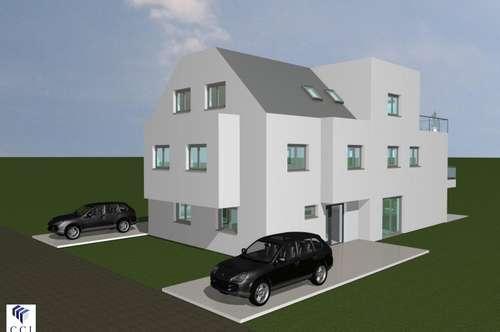 Doppelhaushälfte in Bauphase, 6 Zimmer, Terrasse!