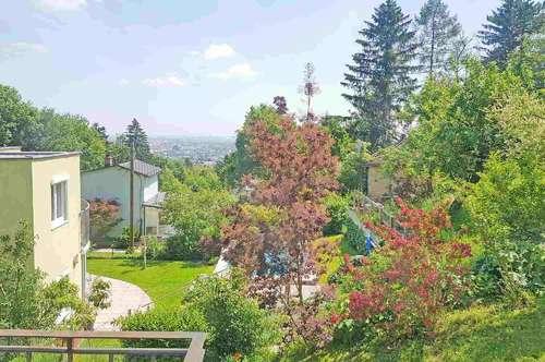 Haus auf Eigengrund mit Wienblick in absoluter Grün- und Ruhelage!