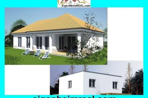 NEUBAUHAUS Bungalow oder Einfamilienhaus MIT GRUND ab 552,- EUR mtl PROVISIONSFREI