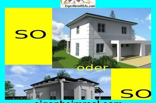 Schlüsselfertiges Einfamilienhaus MIT GRUND - NEUBAU