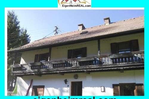 Entzückendes Bauernhaus mit grossem Grund und Nebengebäude