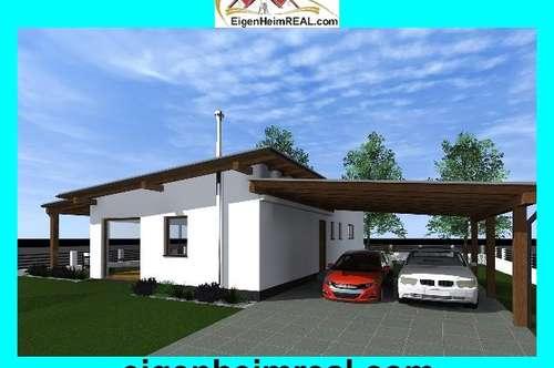 Moderner Neubau Bungalow in Rosegg