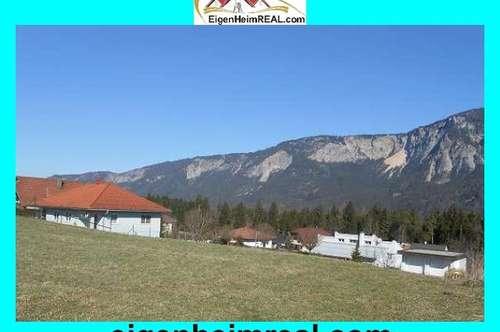 Baugrund Sonnenlage Ruhelage Bergblick UNVERBAUBAR