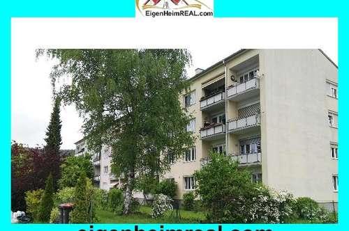 3 Zimmer mit Balkon Nachmittagsonne über dem See - GRÜNBLICK