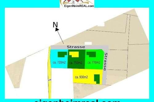 Baugrundstücke NEU aufgeschlossen Nähe Rosegg