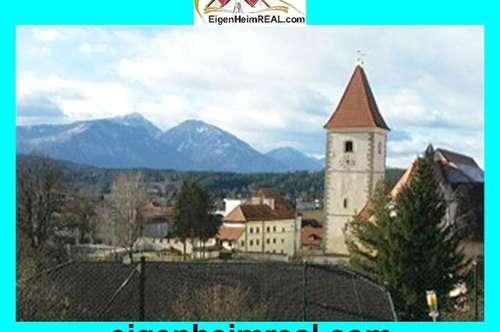 Wohnen in der Ferienregion Eberndorf 3-Zi Wohnung top saniert mit tollem Ausblick