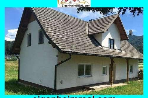 Einmalige Gelegenheit: Älteres Haus, Kleinlandwirtschaft und Baugründe in ruhiger Dorflage