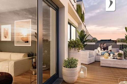 Traumhafte Maisonette: 3-Zimmer-Wohnung in Hietzing mit Dachterrasse und Balkon