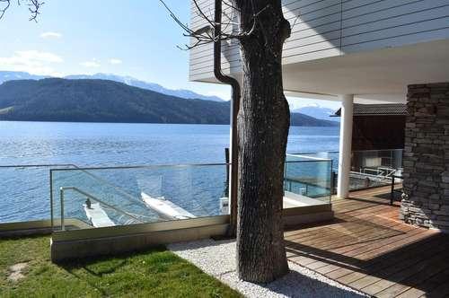 Traumhafte Gartenwohnung mit exklusiven Seezugang
