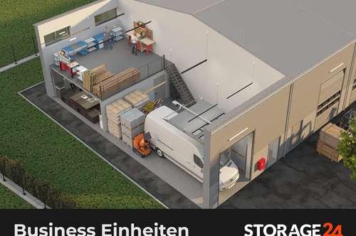 Storage24 vermietet Business Einheiten in Klagenfurt