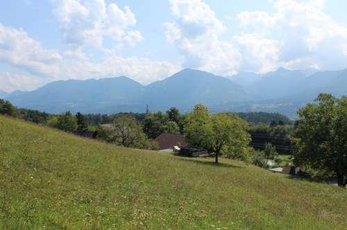 Sonnenverwöhnte Grundstücke mit tollem Ausblick in Ludmannsdorf