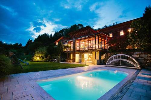 Exklusives Anwesen mit großem Grund in Toplage von Villach!