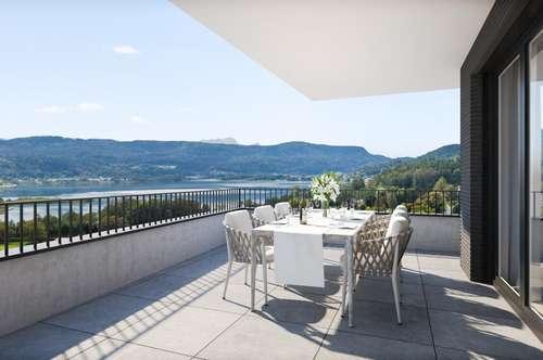 SEENSwert - Keutschach am See! K 2-Zimmer-Luxus-Penthouse mit Seeblick